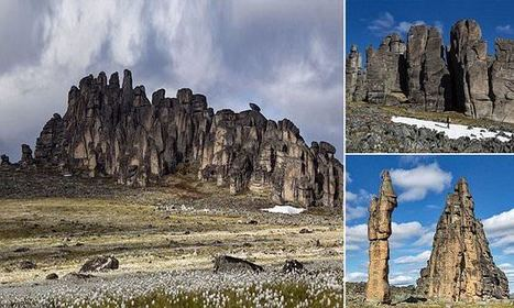 The odd Siberian rock formations not even reviewed on TripAdvisor yet | Conformable Contacts | Scoop.it