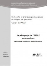 CLIL research/EMILE en LANSAD: Cahiers de l'APLIUT 2013 | TELT | Scoop.it