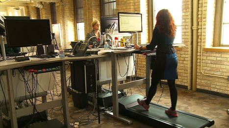 Study: Treadmill Desks Improve Productivity, Creativity At Work | Xposed | Scoop.it