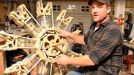Wooden radial engine inspires viewers   Heron   Scoop.it