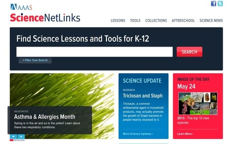 A Great Resource of Science Lesson Plans and Activities for Teachers ~ Educational Technology and Mobile Learning | K-6 Science Resources | Scoop.it