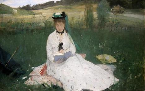 «L'ombrelle verte» par Berthe Morisot 1873 | Impressionnisme | Scoop.it