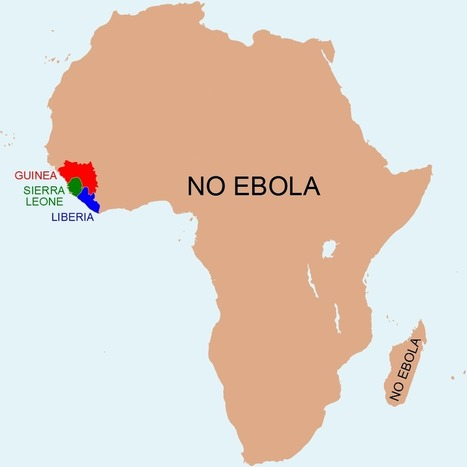 Map: The Africa without Ebola | geoinformação | Scoop.it