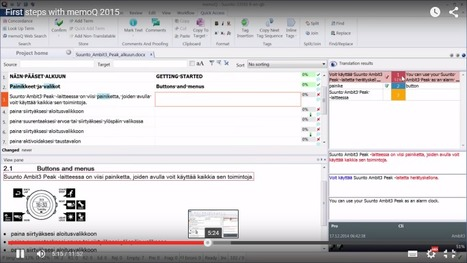 First steps with memoQ 2015 (video) (by Dominique Pivard) | Translator Tools | Scoop.it