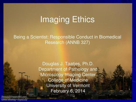 Imaging Ethics - Responsible Conduct in Biomedical Research, Medical | Research Capacity-Building in Africa | Scoop.it