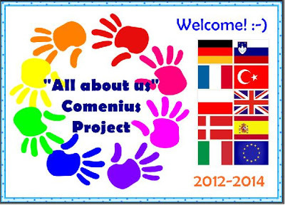 """COMENIUS PROJECT """"ALL ABOUT US"""". WHAT´S GOING ON? 