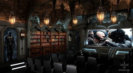Batcave home theater is awesome » Geeky Gadgets | All Technology Buzz | Scoop.it