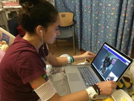 Robotic Telepresence Device Allows Student to Attend School Virtually While Receiving Treatment -- THE Journal | Cool Edubytes for Teachers! | Scoop.it