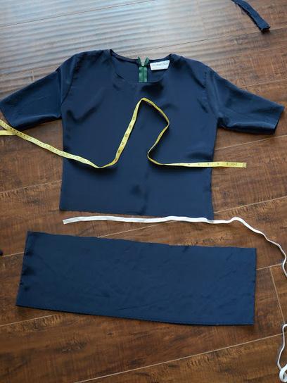 Merricks Art: Peplum Top Refashion (Tutorial)   refashioned clothing   Scoop.it