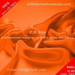 reddish orange silk charmeuse fabric | Silk Wedding Dress Material | Scoop.it