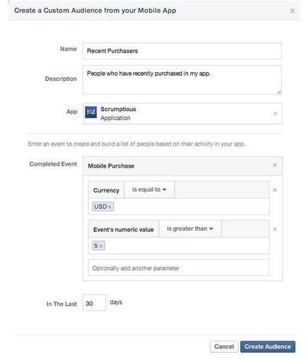 Facebook Launches Custom Audience Ads to Promote Mobile App Engagement | Glocal approach on Social media | Scoop.it