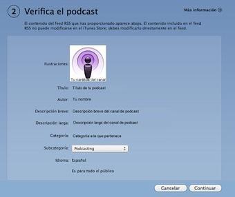 En la nube TIC: Cómo publicar tus podcast en iTunes | Web 2.0 en educación - UNET | Scoop.it