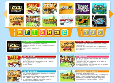 Site gratuito oferece games divididos por matérias | Educational Innovations | Scoop.it
