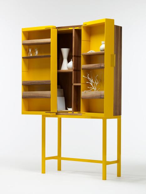 Storage is different/ Hide no Hide by Veronika Gombert | Du mobilier, ou le cahier des tendances détonantes | Scoop.it