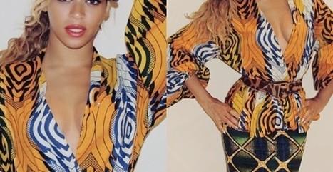 African queen: Beyonce rocks Ankara prints in stunning new photos (LOOK) - Morenikejis Blog | Made in Africa | Scoop.it