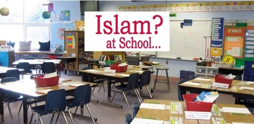 FLORIDA Democrat Dhimmis who go ballistic over Christmas trees in public schools are defending indoctrination of Islamic propaganda in the same schools | Telcomil Intl Products and Services on WordPress.com
