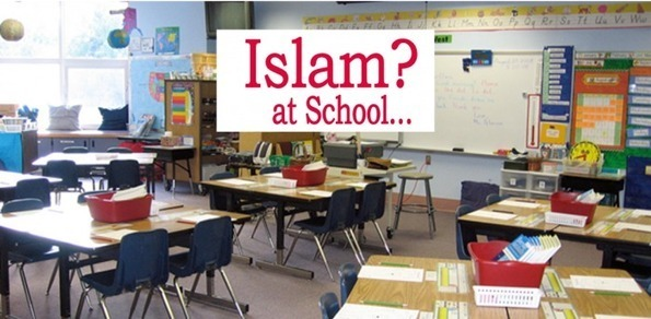 FLORIDA Democrat Dhimmis who go ballistic over Christmas trees in public schools are defending indoctrination of Islamic propaganda in the same schools
