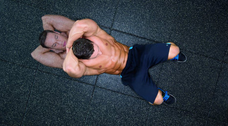 Cross Your Back for Shredded Abs   Health and Fitness   Scoop.it