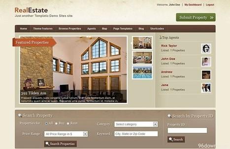 Templatic Real Estate v2.3.12 Wordpress Theme | Download Free Full Scripts | asilduflk jk | Scoop.it