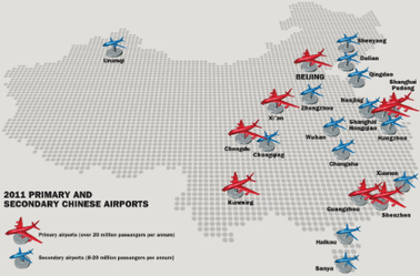 ANALYSIS: Chinese secondary airports eye international service expansion | Allplane: Airlines Strategy & Marketing | Scoop.it