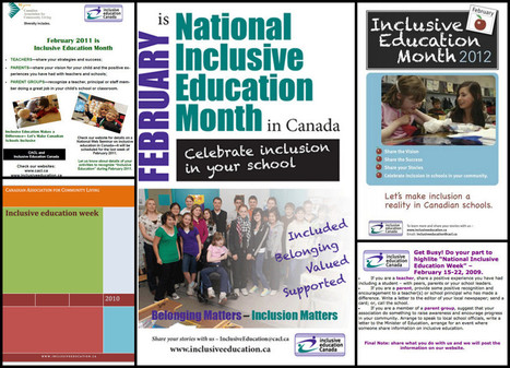 Inclusive Education Month | TCDSB Special Education | Scoop.it