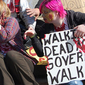 Did Zombie Flash Mobs Help Pave the Way for Occupy Wall Street? | Zombie Mania | Scoop.it