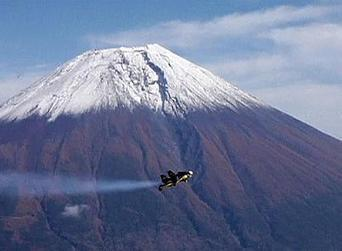 Fuji flight for 'Jetman' | GCST-In the News | Scoop.it