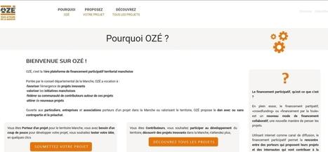 OZé La Manche ! - un OUTIL de crowdfunding en don avec ou sans contrepartie et préachat. | actions de concertation citoyenne | Scoop.it