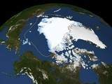 Arctic Sea Ice Hits Record Low—Extreme Weather to Come? | In Deep Water | Scoop.it