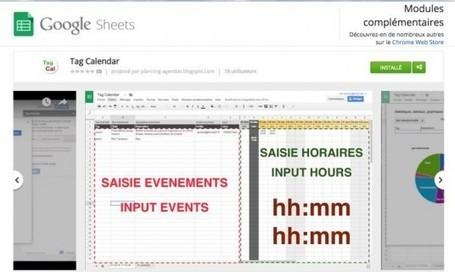 Tag Calendar | Google Apps  (FR) | Scoop.it