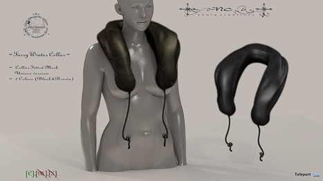 Furry Winter Collar Group Gift by Noble Creations | Teleport Hub - Second Life Freebies | Second Life Freebies | Scoop.it