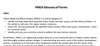 (EN) (PDF) - FMEA Glossaryof Term  | effectivefmeas.com | Glossarissimo! | Scoop.it