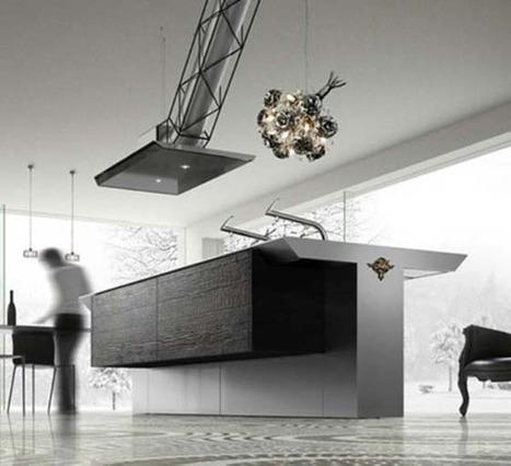 Elegant Minimalist Dark Kitchen for modern homes - Pursuitist | Kuche Design | Scoop.it