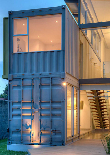 Rennes la maison container b3 ecodesign y cro for Maison container 59