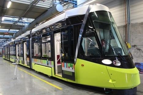 Les Stéphanois pourront bientôt découvrir leur nouveau tramway | L'actu des tramways | Scoop.it