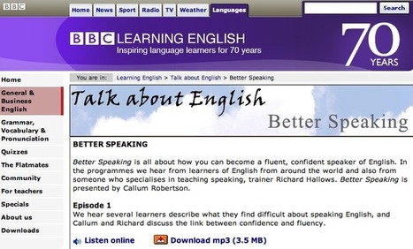 Buried treasure from the BBC: Pronunciation activities | EFL Teaching Journal | Scoop.it
