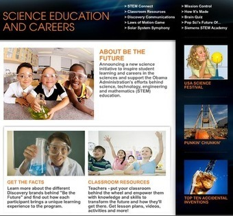 Be The Future – STEM resource from the Science Channel | Automatic Content recognition | Scoop.it