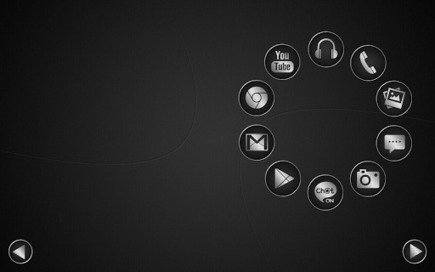 Smart launcher theme SoftBlack v1.1 (paid) apk download | ApkCruze-Free Android Apps,Games Download From Android Market | Liverpool | Scoop.it
