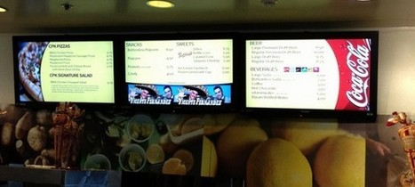 What a Digital Menu Board Can Do For Your Restaurant | Point ... | Creating Connections | Scoop.it