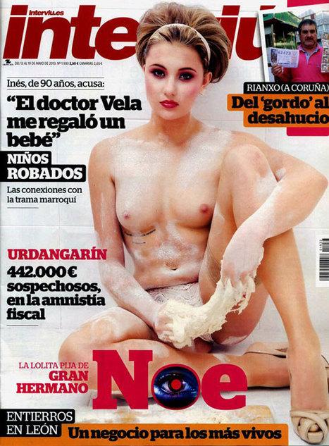 Noe, la gijonesa de Gran Hermano, portada de Interviú. El Comercio | sociedad | Scoop.it