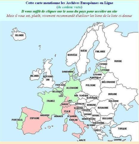 Archives Européennes en Ligne | Mes Hautes-Pyrénées | Scoop.it