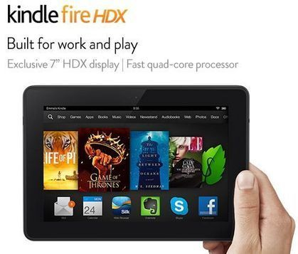 "Will You Get The New Kindle Fire HDX Display 7""? 