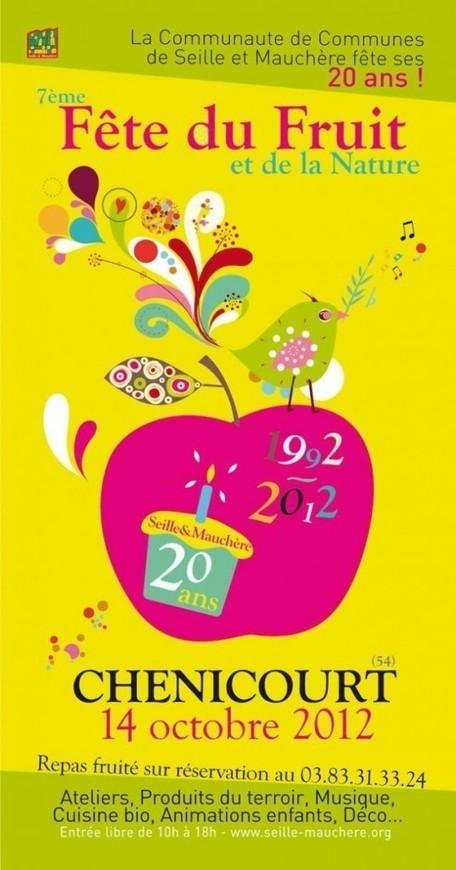 Fête du fruit à Chenicourt avec les Croqueurs de pommes – 14 octobre 2012 | Revue de Web par ClC | Scoop.it