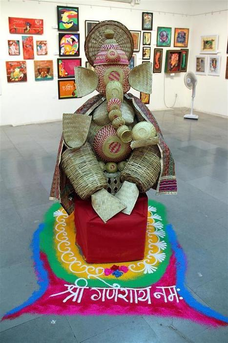 Featuring a Sustainable Ganesha Idol Made From Cane - TFOD | Architecture Portal | Scoop.it