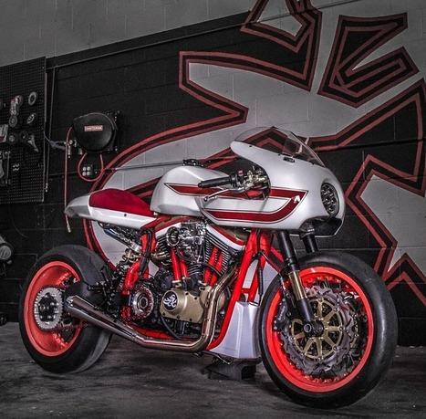 RocketGarage Cafe Racer: Ivory Comet by JSK Custom Design | custom cafe racer | Scoop.it