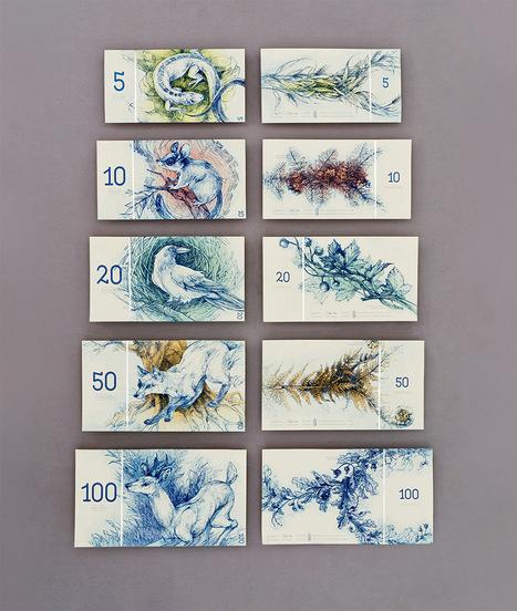 Hungarian Banknote Concept Designed by Barbara Bernát | Diseño y tipografía | Scoop.it