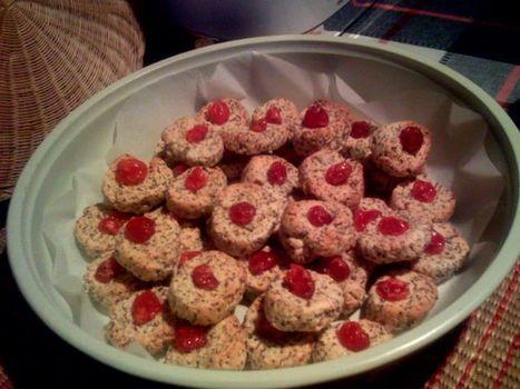 NoteDiStile | Biscotti al tè rosso, ciliegie e vaniglia (senza glutine) | FreeGlutenPoint | Scoop.it