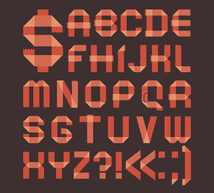 20 Beautiful Ribbon Fonts for Elegant and Feminine Designs | freebies | Scoop.it