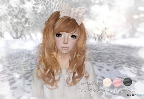 CCB Head Accessory Opening Group Gift by {amiable} | Teleport Hub - Second Life Freebies | Second Life Freebies | Scoop.it