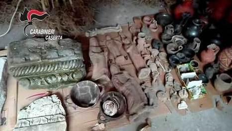 [Cc] Caserta: recuperati beni archeologici trafugati del I secolo d.C. [VIDEO] | LVDVS CHIRONIS 3.0 | Scoop.it